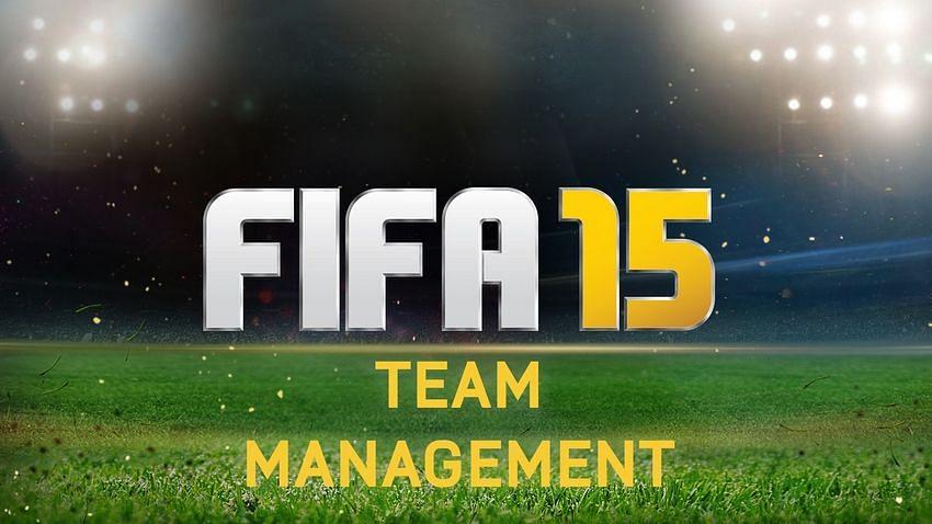 FIFA 15 - Team management undergoes transformationFifa 15 Logo
