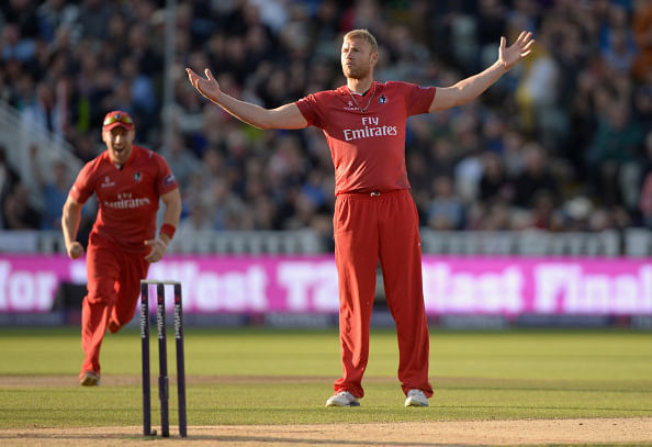 Andrew Flintoff considering Australia's Big Bash League offers