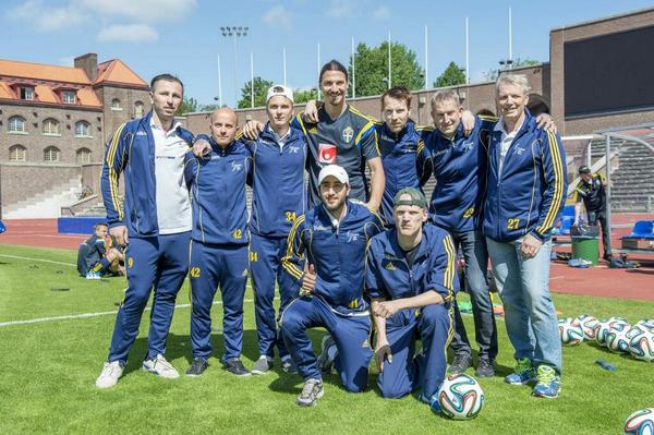 Zlatan Ibrahimovic pays to send Swedish football team to World Cup for intellectually disabled