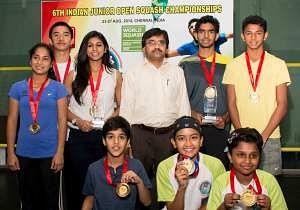 Kush Kumar, Lakshya Ragavendran win Indian Junior Open squash