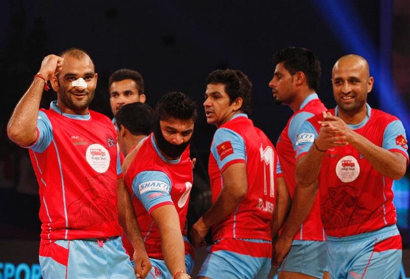 Jaipur Pink Panthers end home run at the top of the table