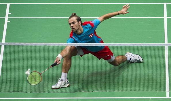 Jorgensen quits Badminton World Championships due to knee injury