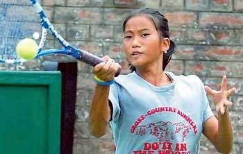 Junior tennis titles for Jennifer Luikham and Rana Roop Singh Bhullar