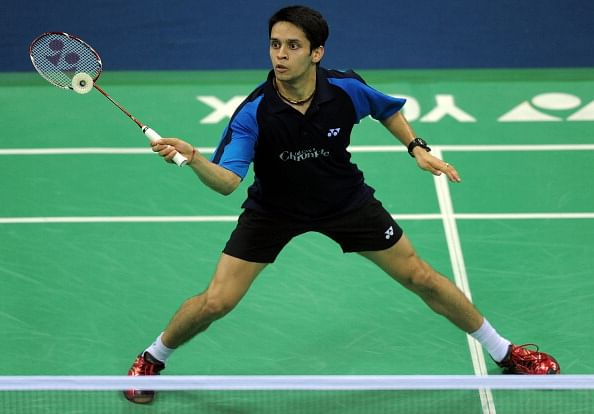 CWG champion Kashyap eliminated in the first round