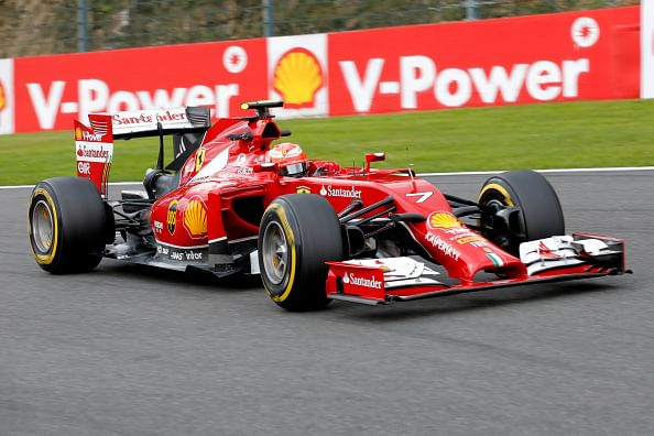 Kimi Raikkonen and the romance at Spa Francorchamps