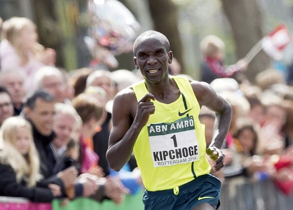 Elluid Kipchoge is confident of breaking Chicago Marathon course record
