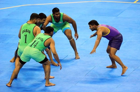Lahore Lions on a winning spree in World Kabaddi League