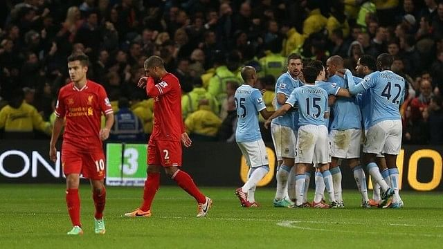 Manchester City playing five men in midfield against Liverpool at home would be 'bonkers'