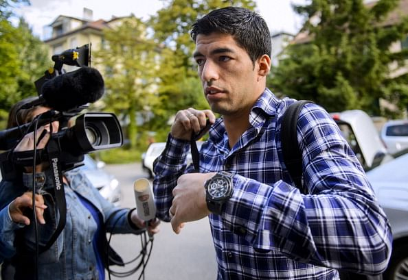 Luis Suarez appeals against four month suspension in Geneva