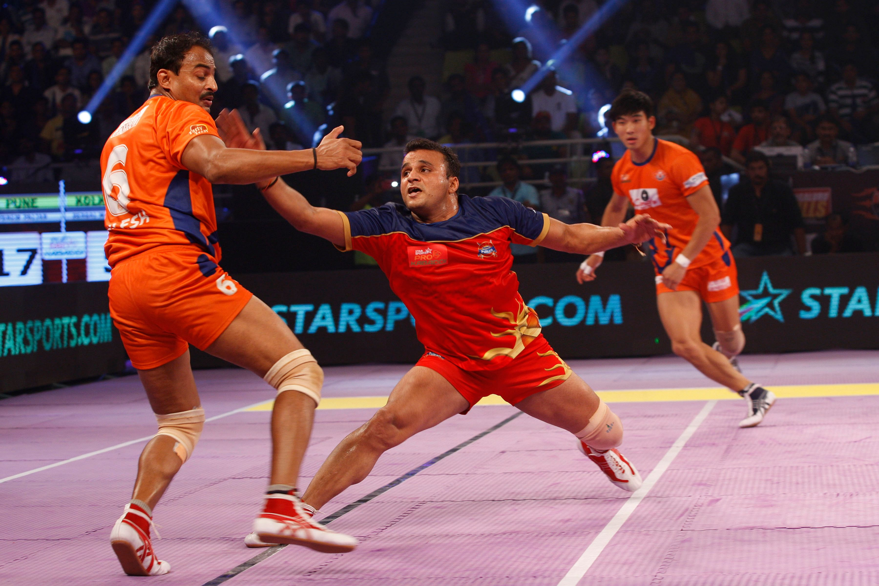Pro Kabaddi League: Pune secure first homeground victory