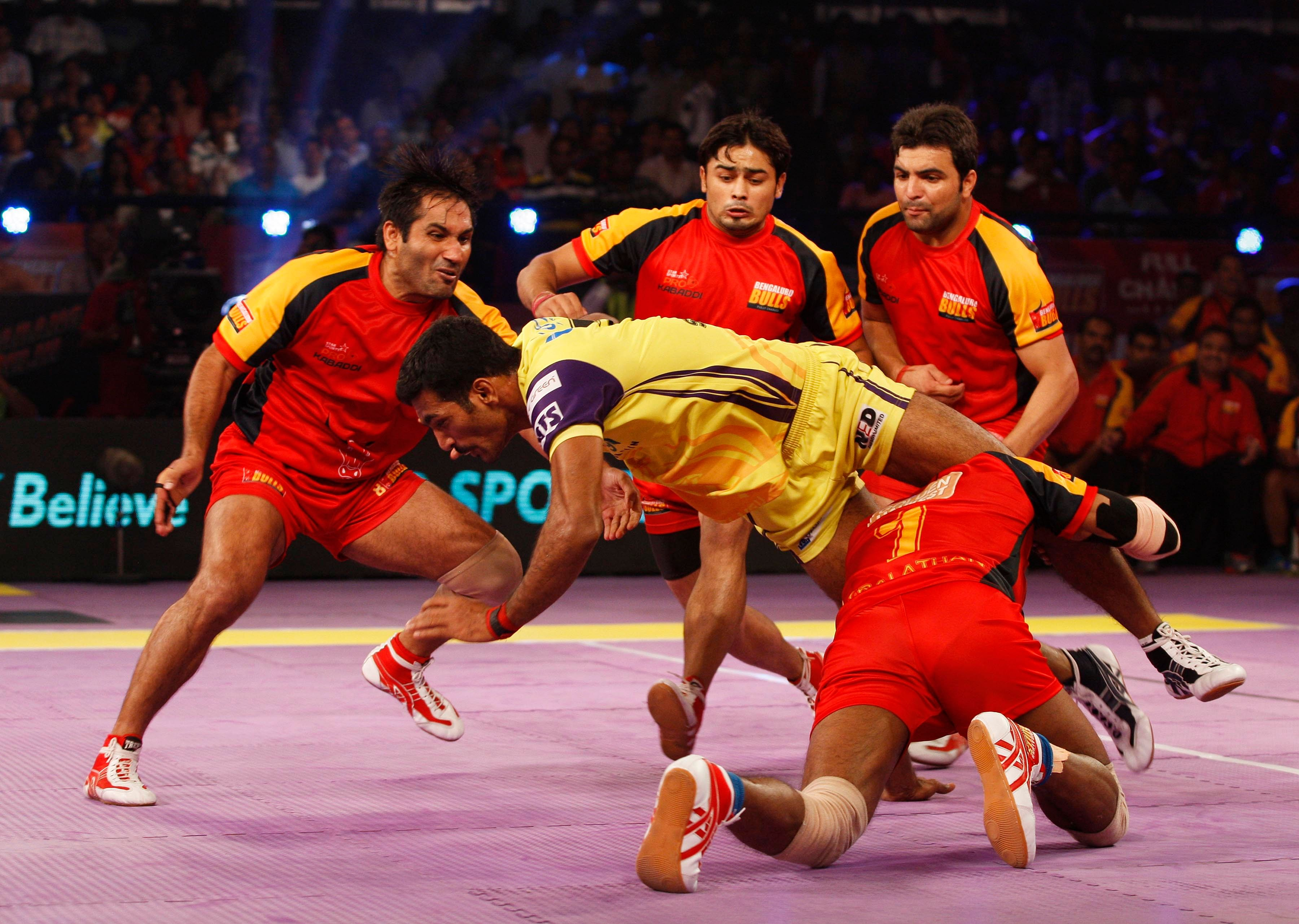 Bengaluru Bulls win by a single point in the final seconds