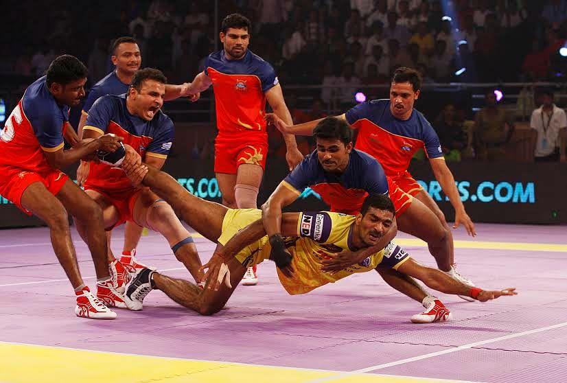 Pro Kabaddi League Telugu Titans Ruin Punes Party