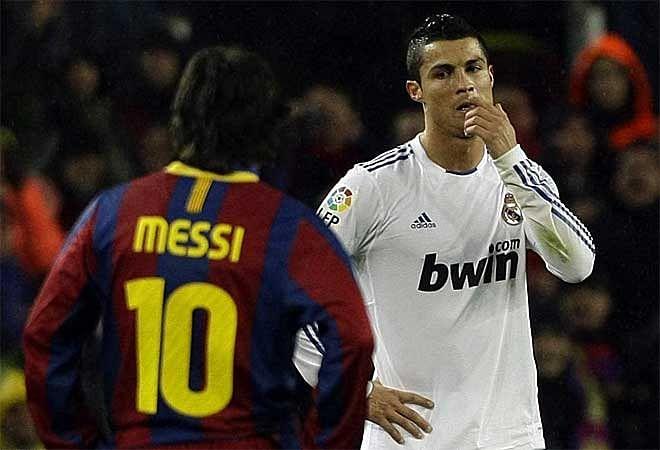 Statistical comparison: Lionel Messi vs Cristiano Ronaldo