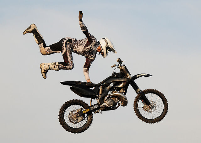 Jaw-dropping Motocross stunts that will make you question the laws of physics