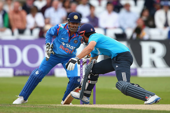 MS Dhoni breaks record for most stumpings in international cricket
