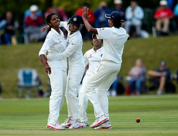England women v India women, only Test: Bowlers dominate closely contested opening day