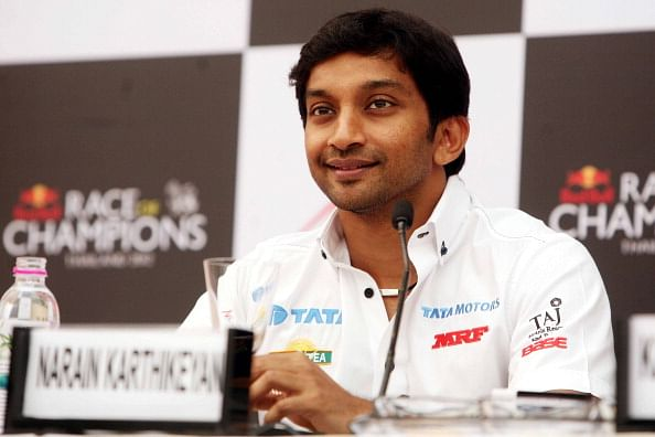 Karthikeyan forced to retire after gearbox failure