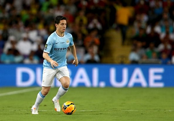 Manchester City's Samir Nasri announces retirement from international football