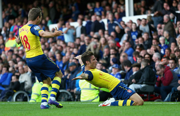 Highlights: Arsenal come back from 2-0 down to draw 2-2 with Everton