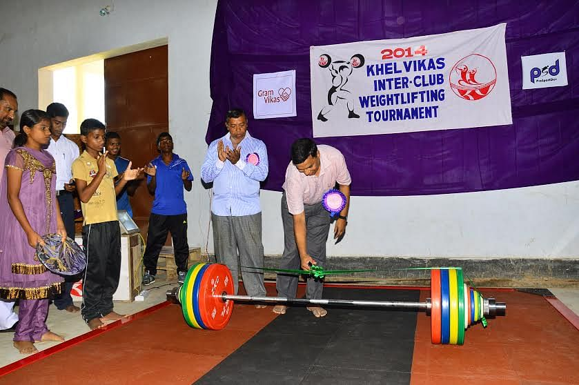 Khel Vikas Academy lifters shine in the Inter-Club Weightlifting Competition