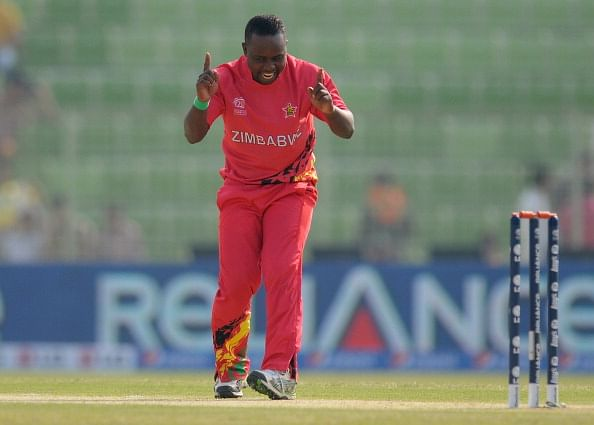 Prosper Utseya becomes 2nd Zimbabwean to take an ODI hat-trick