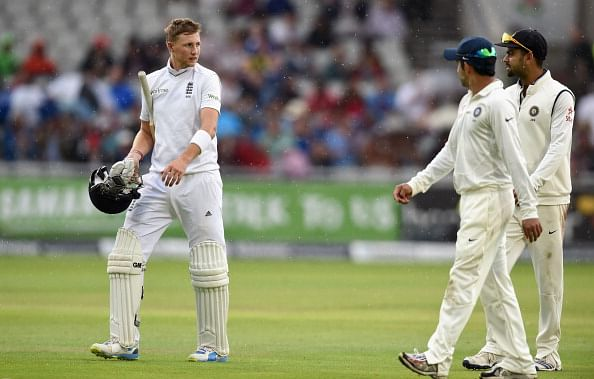 England vs India 4th Test, Day 2 - Rain stops post-lunch play