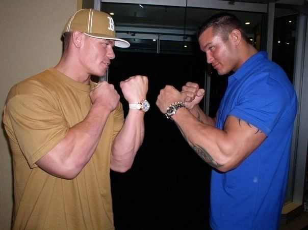 randy orton and john cena relationship with dad