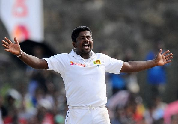 Rangana Herath becomes only 2nd Sri Lankan to take 9 wickets in a Test innings