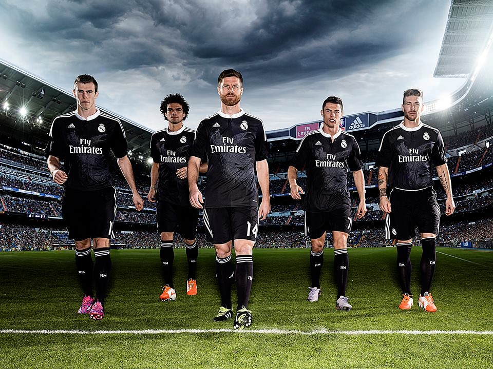 What is the secret behind the dragons in Real Madrid's third kit?