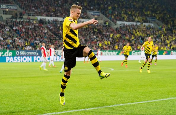 Dortmund's Marco Reus makes comeback from injury with goal and assist against Augsburg