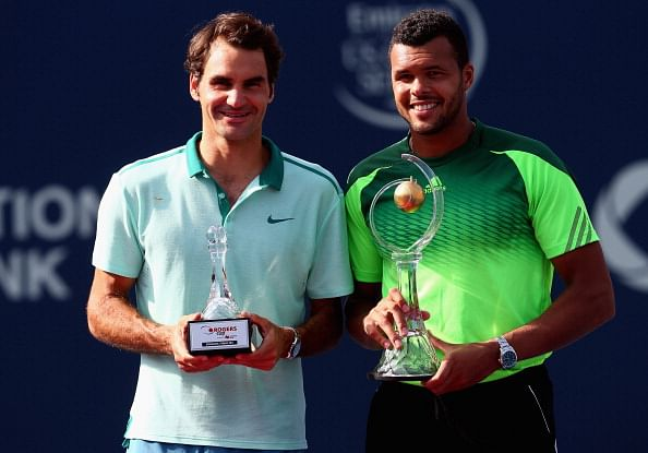 Rogers Cup: Jo-Wilfried Tsonga beats Roger Federer to win his second ATP Masters 1000 title