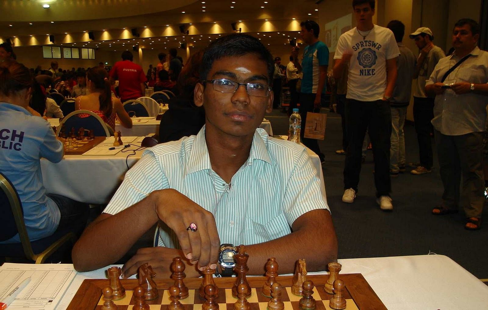 Chess Olympiad Norway: India settle for a draw against Armenia