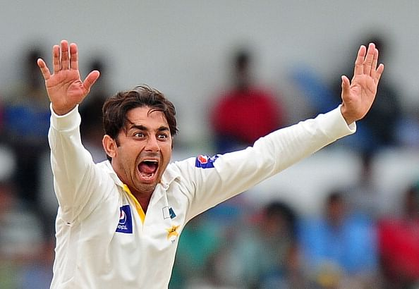 Saeed Ajmal reprimanded for using foul language