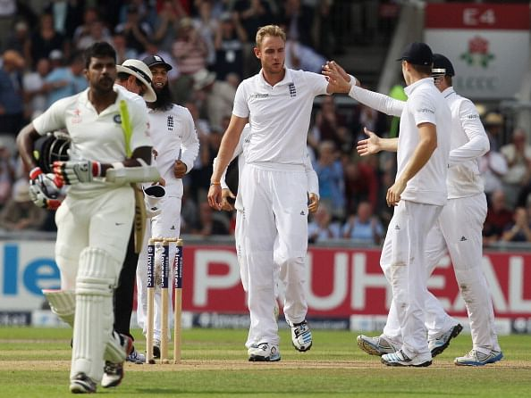 England v India 2014 - 4th Test, Day 1: Facts and Figures