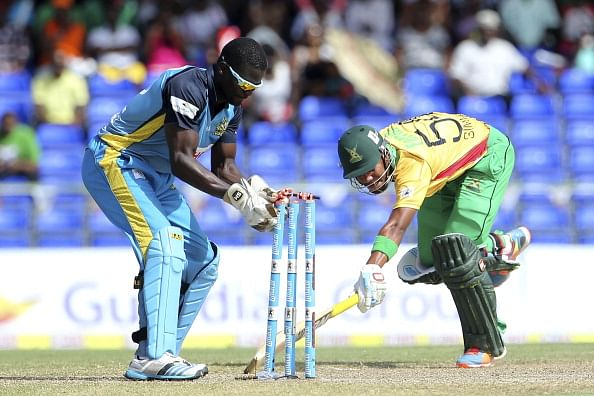 Lendl Simmons leads Guyana Amazon Warriors to highest ever chase in Caribbean Premier League