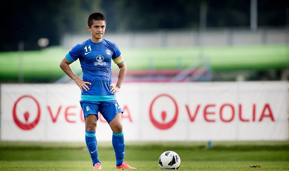 Sunil Chhetri bags consolation in India U-23's defeat