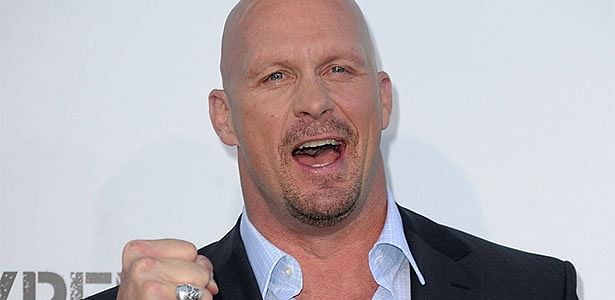Stone Cold drinks some beer and picks games for ESPN College Gameday as guest