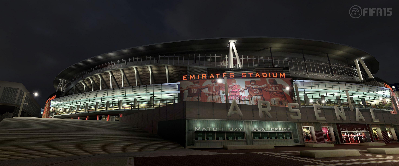 FIFA 15 - Screenshots of all 20 Premier League stadiums
