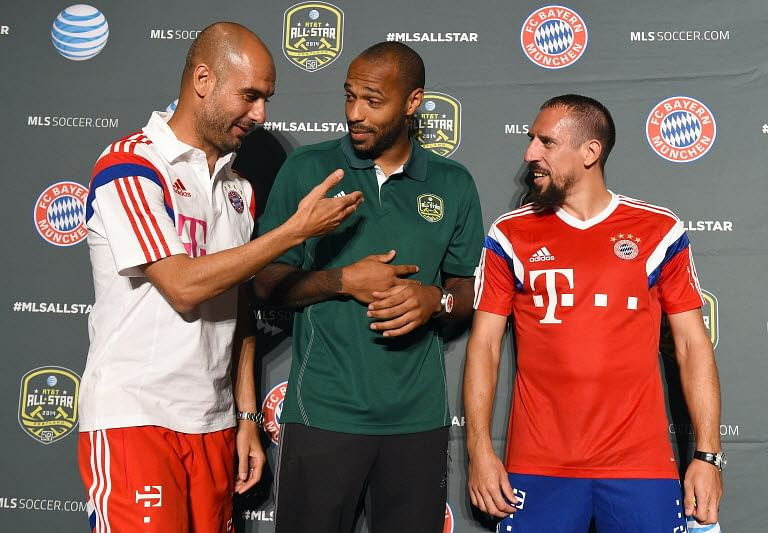 Thierry Henry: Muller-Ribery, not Ronaldo-Messi are ideal role models in football