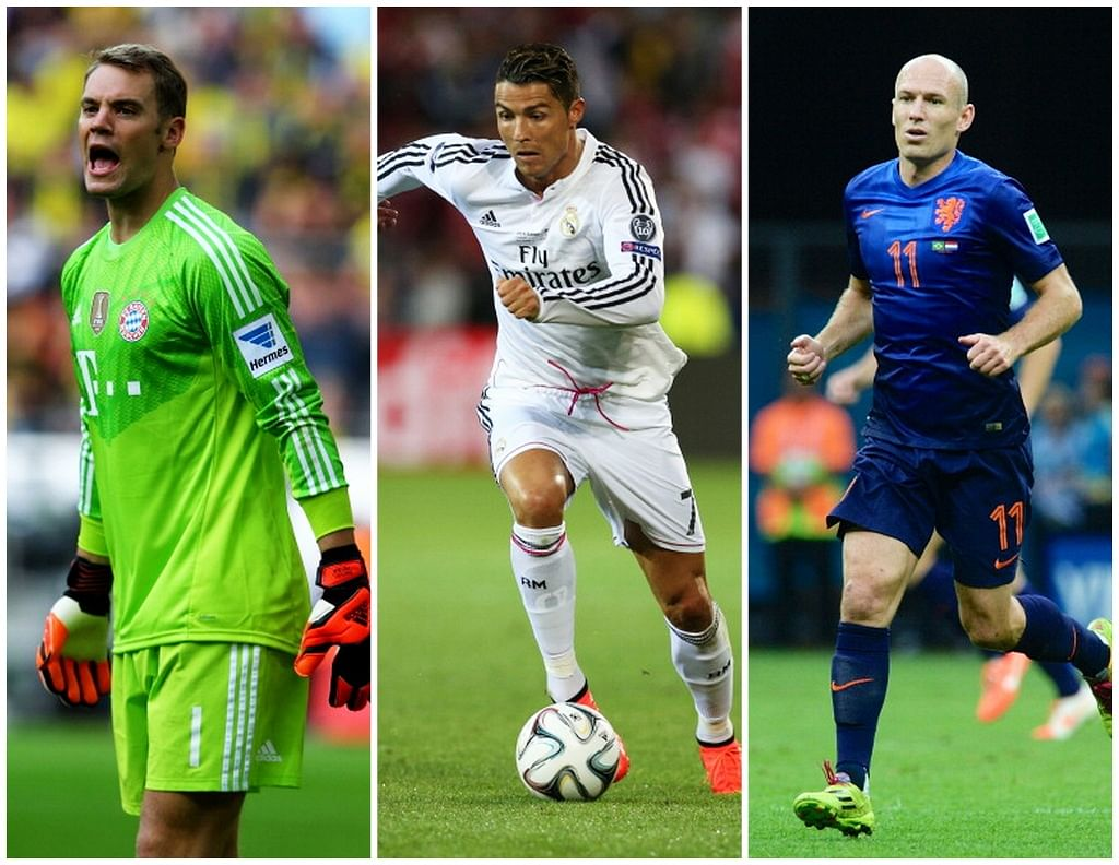 UEFA announces shortlist for the 2013-14 UEFA Best Player in Europe Award
