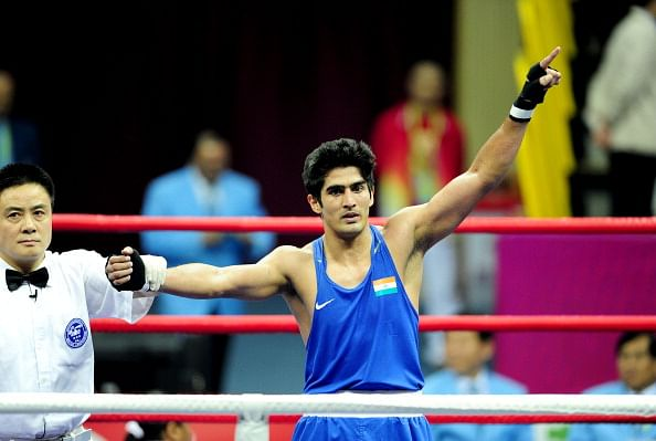 CWG 2014: Vijender, Mandeep settle for silver, India end with 5 medals from the ring