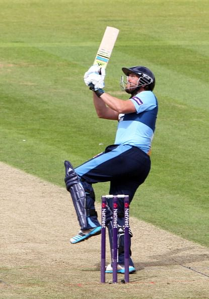 One Day Cup: Wes Durston's century hands Derbyshire an important win