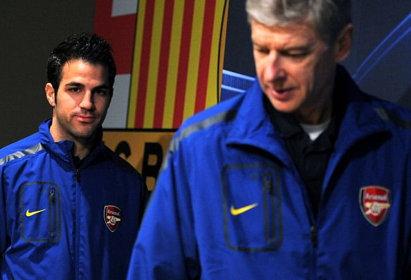 Arsene Wenger: I have no regrets about not re-signing Cesc Fabregas