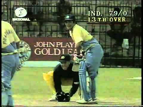Video: Sachin Tendulkar's 1st ODI century