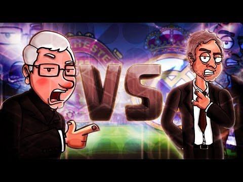 Epic rap battle between Sir Alex Ferguson and Jose Mourinho