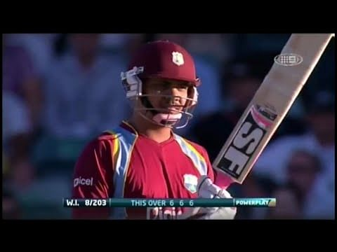 Video: Sunil Narine hits Glenn Maxwell for 4 consecutive sixes
