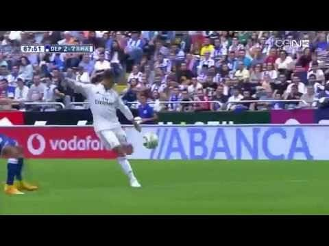 Video: Javier Chicharito Hernández with a stunning debut goal for Real Madrid against Deportivo