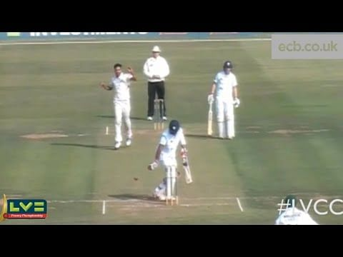 Video: Cheteshwar Pujara dismissed
