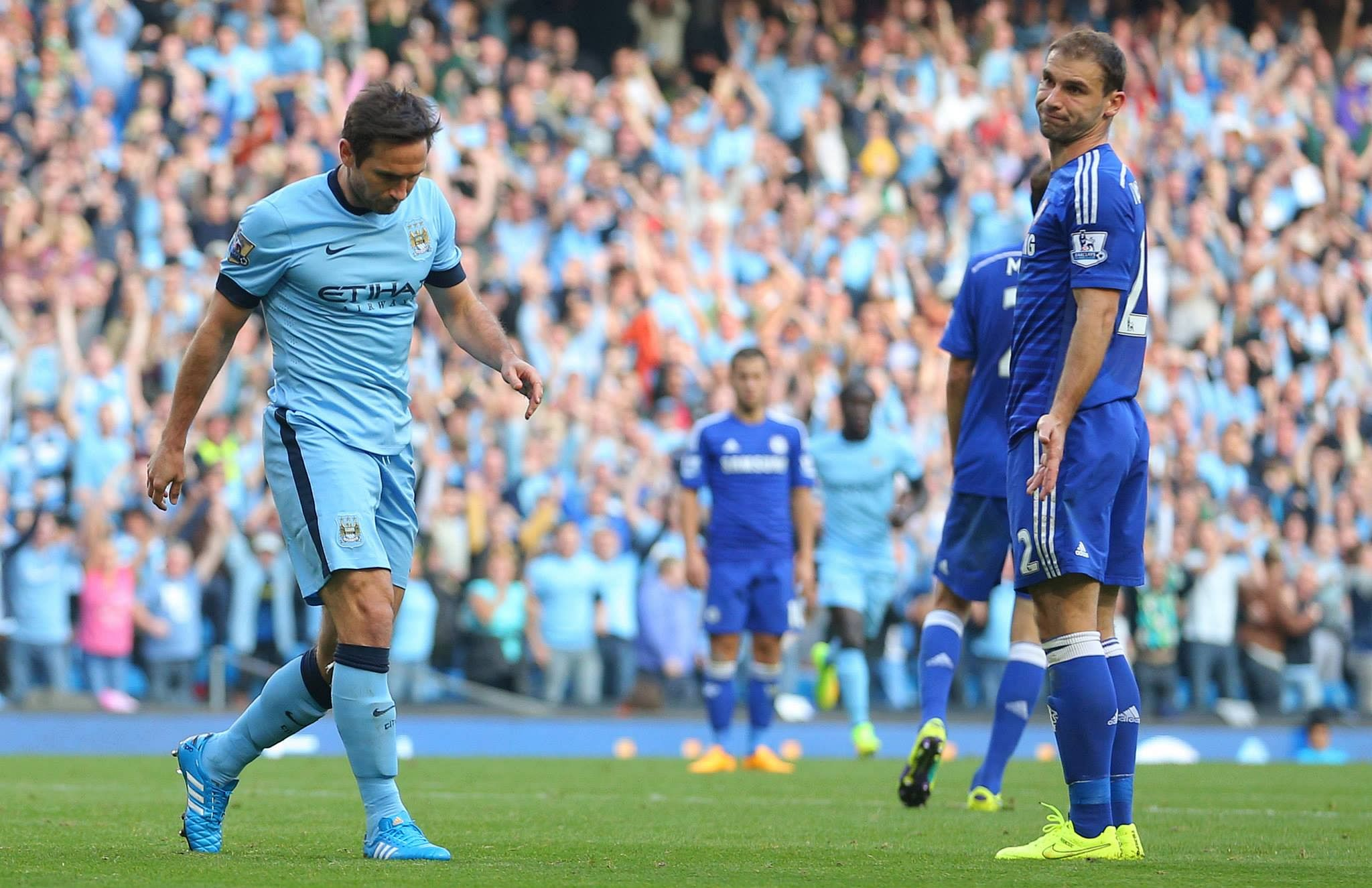 Frank Lampard's goal against Chelsea creates new record