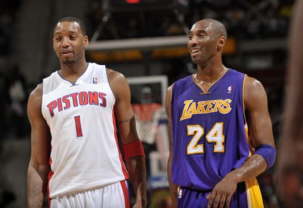 Tracy McGrady works out with Kobe Bryant to test fitness for NBA comeback